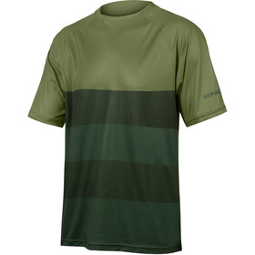 Endura SingleTrack Core Maglietta Uomo, verde oliva